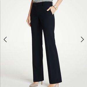 Ann Taylor Devin Fit Navy Trouser Pant sz 10
